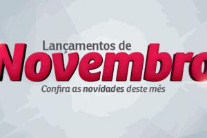 Confira os últimos lançamentos de produtos da Gráfica Baner em novembro
