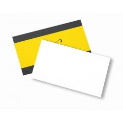 Cartão de Visita Couchê 300g Lam Fosca 9x5 4x0 cor(es) - Qtd 3000 un. - Qtd. Mínima: 1 Produção: 5 dias úteis