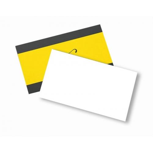 Cartão de Visita Couchê 300g Lam Fosca 9x5 4x0 cor(es) - Qtd 100 un. - Qtd. Mínima: 1 Produção: 5 dias úteis