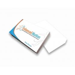 Cartão de Visita Couchê 300g UV FR VR 9x5 4x0 cor(es) - Qtd 5000 un. - Qtd. Mínima: 1 Produção: 5 dias úteis