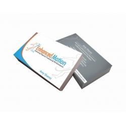 Cartão de Visita Couchê 300g UV FR VR 9x5 4x1 cor(es) - Qtd 1000 un. - Qtd. Mínima: 1 Produção: 5 dias úteis
