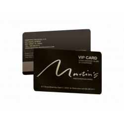 Cartão de Visita PVC 0,76 Verniz Cristal FR e VR Fosco 8,5x5,4 4x4 cor(es) - Qtd 50 un. - Qtd. Mínima: 1 Produção: 8 dias úteis