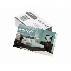 Cartão de Visita Supremo 300g UV FR 9x5 4x1 cor(es) - Qtd 3000 un. - Qtd. Mínima: 1 Produção: 5 dias úteis