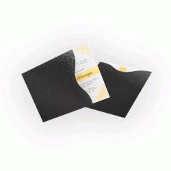 Convite de Casamento Clássico 01 Envelope Color Plus Estampado Los Angeles 180g - Lâmina Couchê 250g  - 20x20  4x0 cor(es) - Qtd 50 un. - Qtd. Mínima: 1 Produção: 7 dias úteis