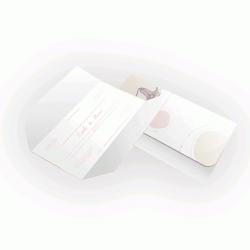 Convite de Casamento Clássico 02  - Envelope Aspen Perolizado 180g - 100x148mm  4x4 cor(es) - Qtd 50 un. - Qtd. Mínima: 1 Produção: 7 dias úteis